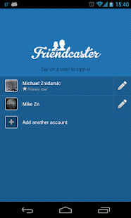 FriendCaster for Facebook - screenshot thumbnail