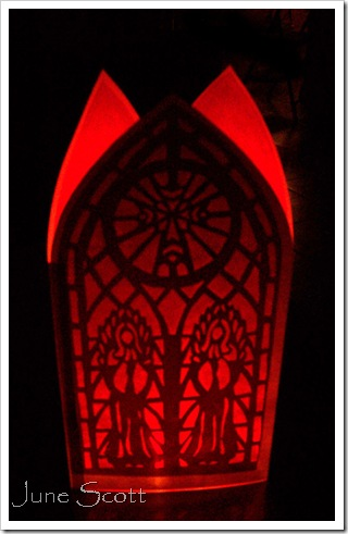 PaperCutting_Candle