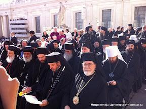 Делегација Српске Православне Цркве на устоличењу папе Франциска Првог
