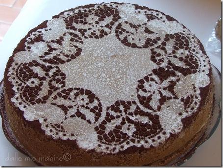 torta nocciole e ganache