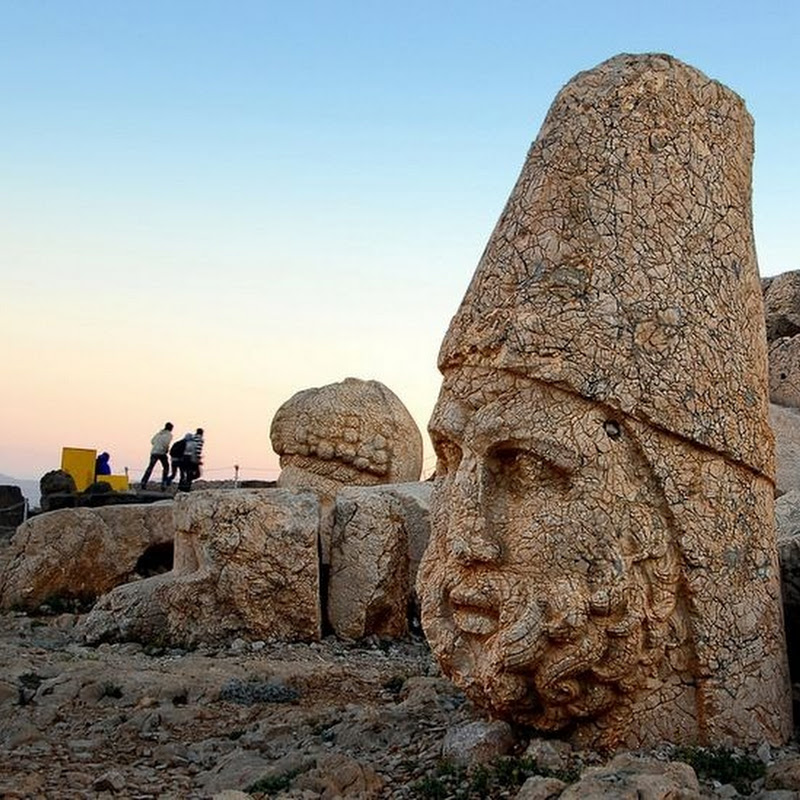 Ruins of the Commagene Kingdom at Mount Nemrut