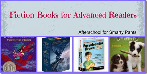 Fiction Books for Advanced Readers: Afterschool for Smarty Pants