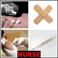 NURSE- Whats The Word Answers