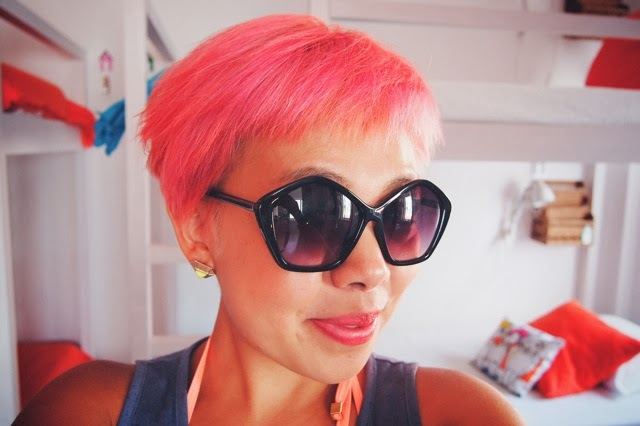 my pink hair