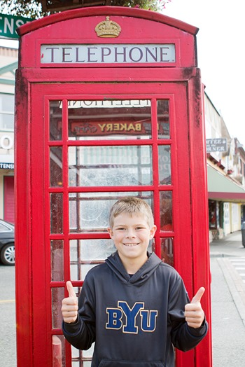 Telephone Booth in Poulsbo Washington