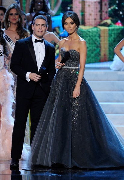 Giuliana Rancic 2012 Miss Universe Pageant