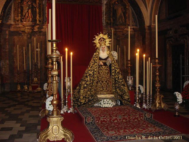 Virgen de la Presentación - El Calvario - Sevilla novbre2011 (24).JPG