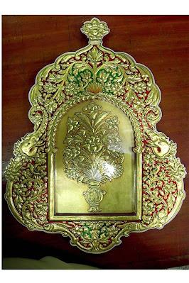 (bikaner's usta arts)usta golden art bikaner rajasthanusta art in bikanerusta art of bikanerusta art bikaner rajasthanबीकानेर की प्रसिद्ध उस्ता कला