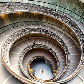 Love Spirals by Flo Yeow - Buildings & Architecture Other Interior ( love, flotographysg, couple, vatican, aliandflo,  )
