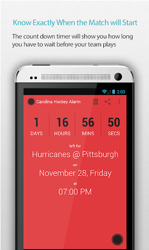 Carolina Hockey Alarm
