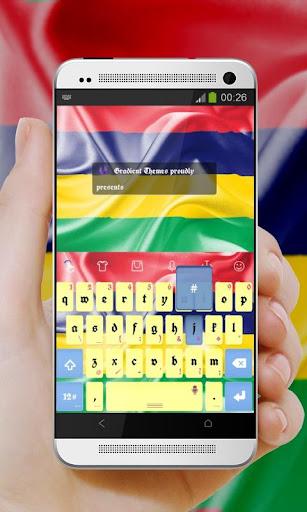 玩免費個人化APP|下載モーリシャスキーボード app不用錢|硬是要APP