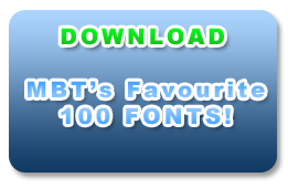 FAVOURITE-100-FONTS
