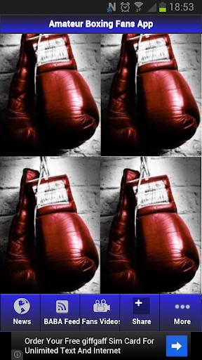 Amateur Boxing News App