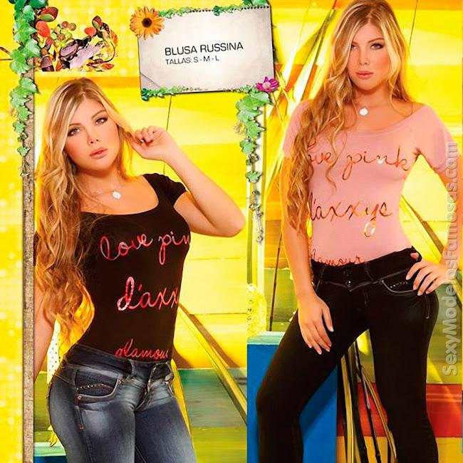 Angelica Jaramillo y Sofia Jaramillo Axxys Jeans Foto 40