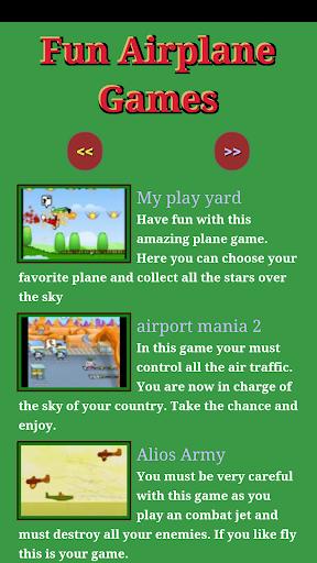 Fun Airplane Games