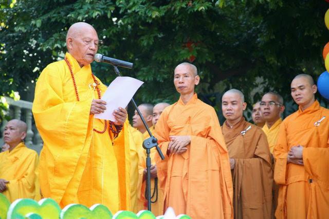 IMG 1749 Đại lễ Phật đản PL 2557 tại Tu viện Quảng Hương Già Lam