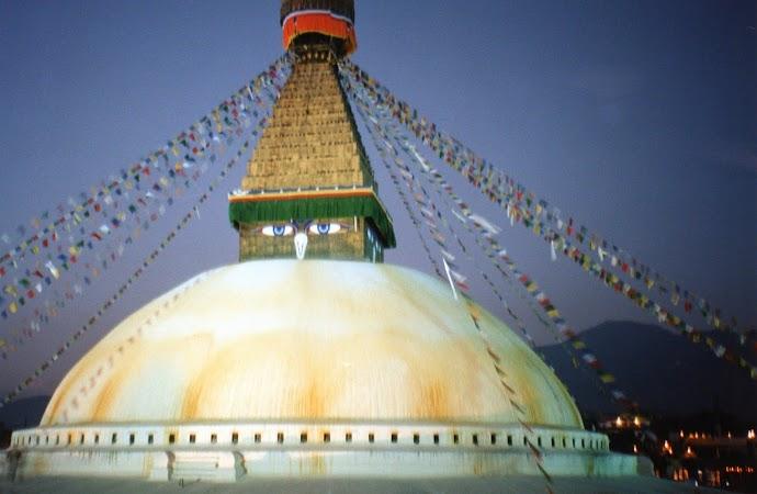 Obiective turistice Nepal: stupa pe inserat.jpg