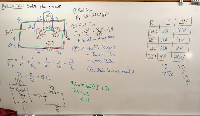 Volkening's Physics Classes: Solving Compound Circuits