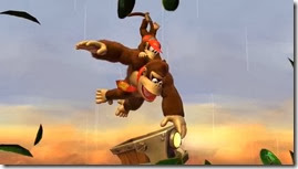 Donkey Kong Country Tropical Freeze, Diddy e Donkey no céu