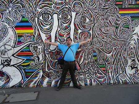 Obiective turistice Berlin: Grafitti zidul Berlinului.JPG