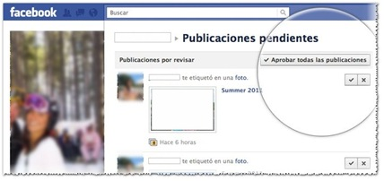 Revisión de Etiquetas en el perfil Facebook