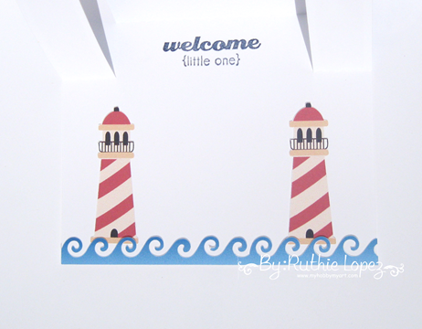 Nini Scrap - Nautical Bears - Ruthie Lopez - Center Step Card. 5