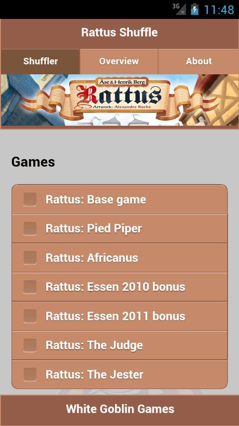 Rattus Shuffle- screenshot