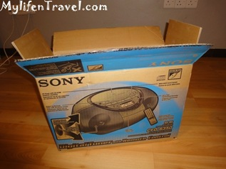 Sony CD player S350 9