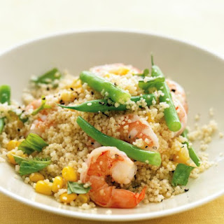 Shrimp with Whole-Wheat Couscous.
