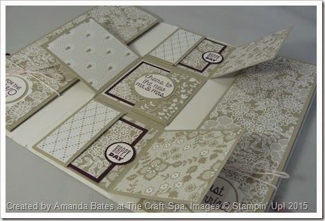 Artisan Embellishments & Something Borrowed TriFold Mini Book by Amanda Bates at The Craft Spa  (8)