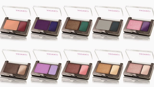 Vasanti Eyeshadows