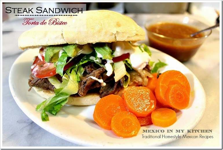 Steak Sandwich | Torta de Bistec