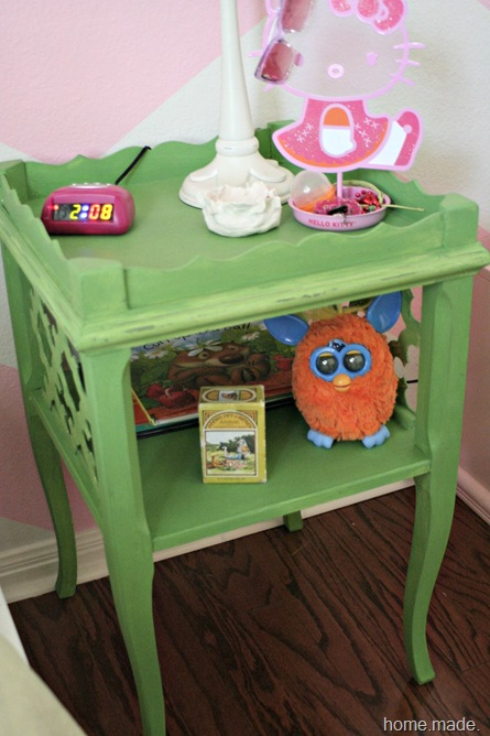 Antibes Green Table Makeover