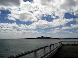 North Island - view of Rangitoto
