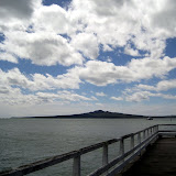 North Island - view of Rangitoto