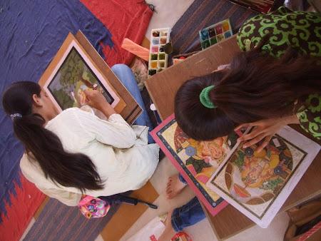 Arta India: workshop de miniaturi in City Palace Jaipur