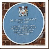 Chaim.Weizmann.Plaque