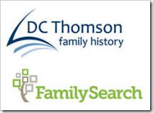 DC Thomson家族历史和家庭搜索标志