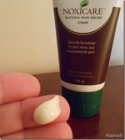 noxicare cream close up