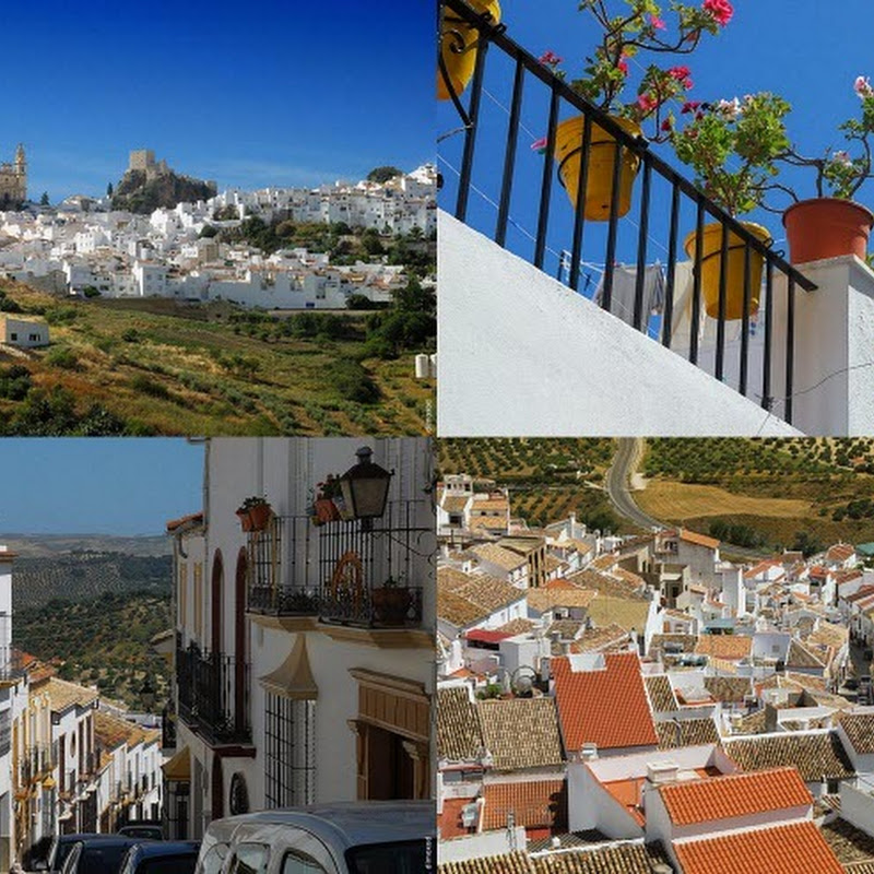 The Beautiful White Village of Olvera, Spain