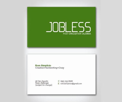 Jobless-Business-Card