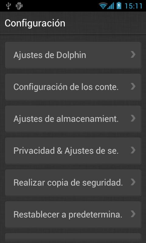 Dolphin Browser V9 - screenshot