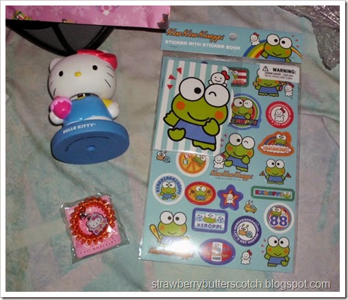 sanrio grab bag contents