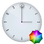 Fabian's Elegant  Clock Widget
