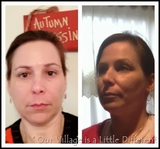 Lancome Dream Tone Before and After