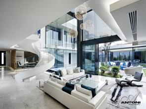 Decoración interior casa de lujo Saota Antoni Associates