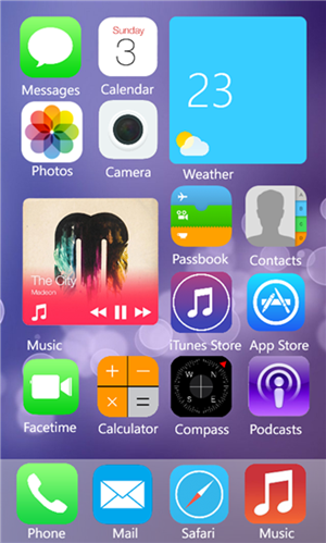 iOS 8 Beta Theme-1