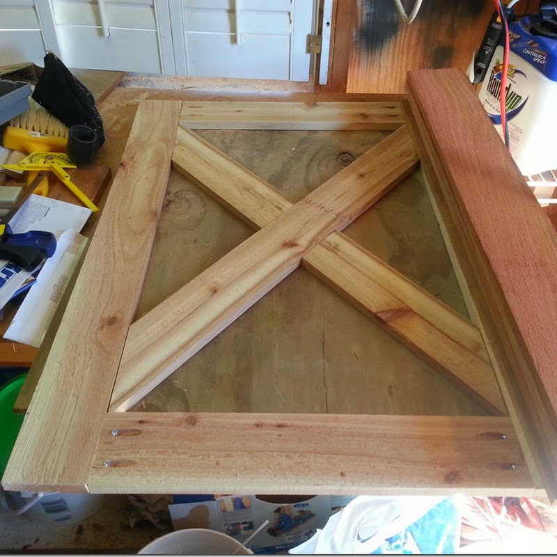 Tree House Update: Dutch Door