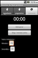 Screenshot of Recettes du Nord