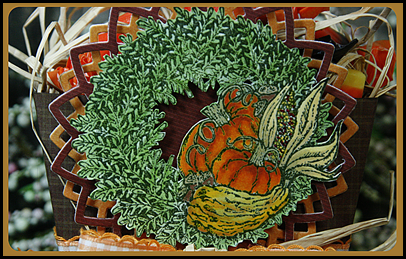 Pumpkin Wreath, Our Daily Bread designs